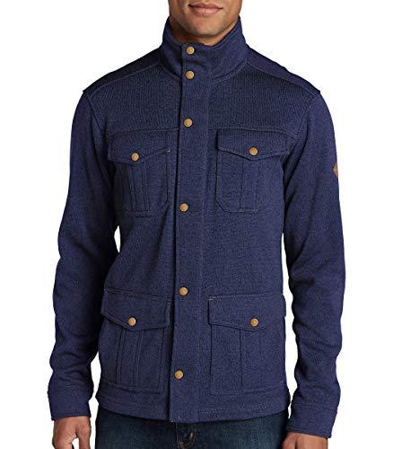Eddie Bauer Men's Radiator 4-Pocket Jacket (XL, Midnight Blue)