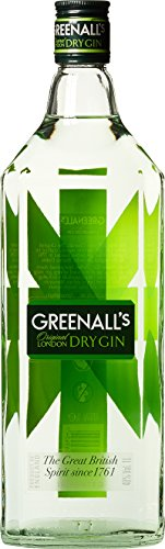 Greenall's London Dry Gin Export Strength (1 x 1 l)