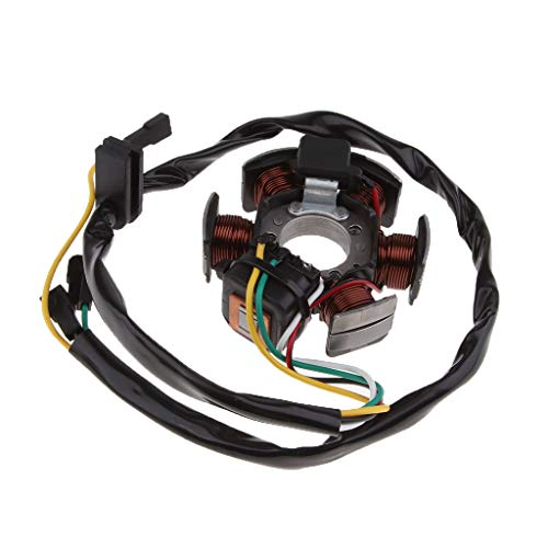 IPOTCH Motorrad Magnetspule Magnetgenerator Stator-Spulensitz Zündung Magnetspule Für Aprilia RS50 RX50
