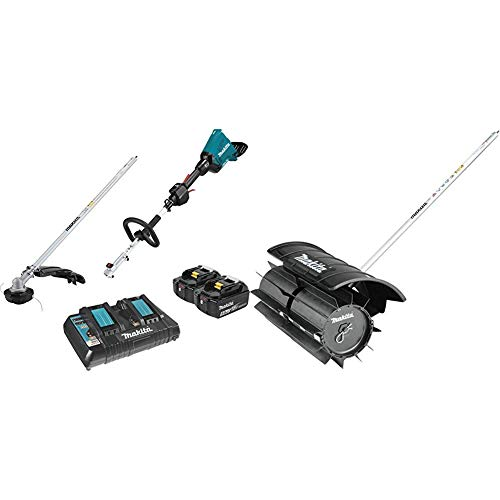 Buy Makita XUX01M5PT 18V X2 (36V) LXT Lithium-Ion Brushless Cordless Couple Shaft Power Head Kit wit...