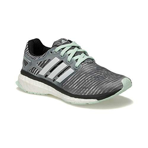 adidas Energy Boost ESM Womens Running Shoes - Grey-3.5