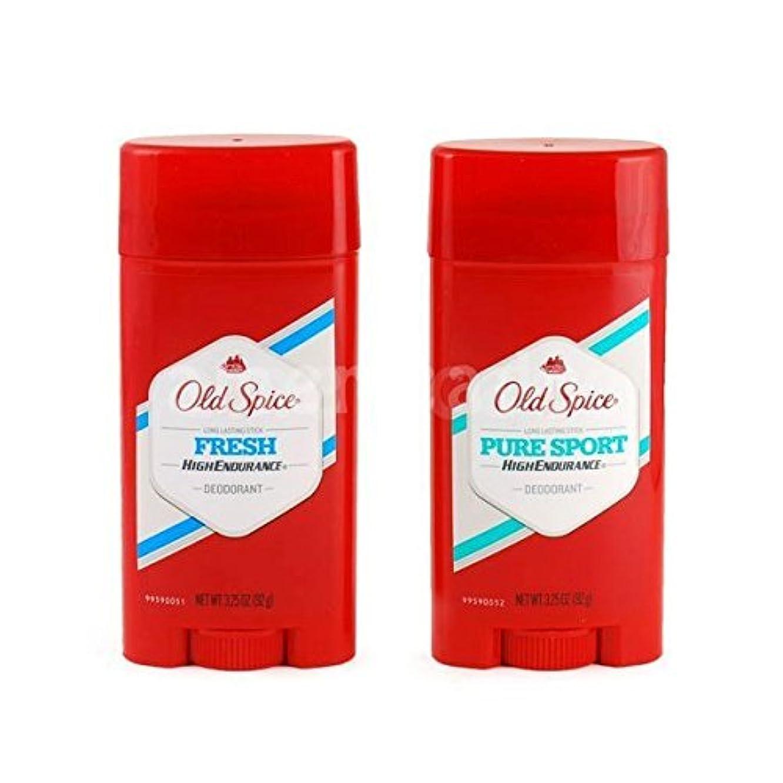 影響するを除く人気のOld Spice デオドラント 男性用 (Fresh, PureSport) [並行輸入品]