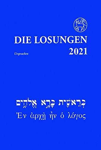 DIe Losungen in der Ursprache 2021: Hebrisch und Altgriechisch