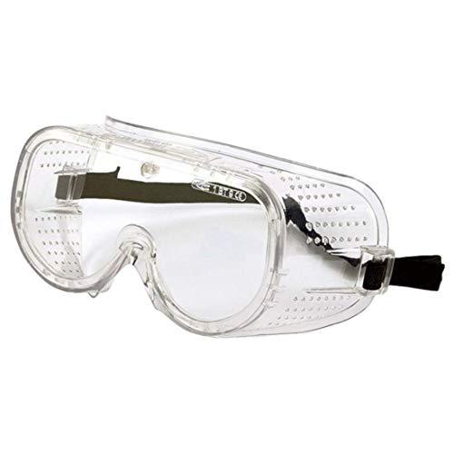 Cofra - Gafas de protección Completa para el Trabajo, protección contra arañazos, PVC, EN 170