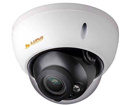 Lupus Electronics 13310 GEODOME - LE 338HD wetterfeste Vario-Domekamera mit 1080p Auflösung und 30 Meter Nachtsicht, Weiß