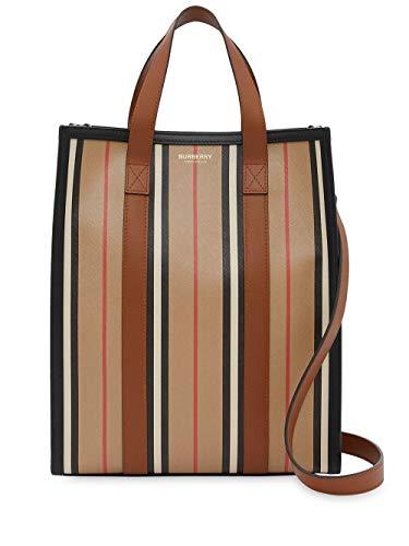 Burberry Luxury Fashion Donna 8024686 Beige Cotone Borsa Shopping | Primavera-estate 20