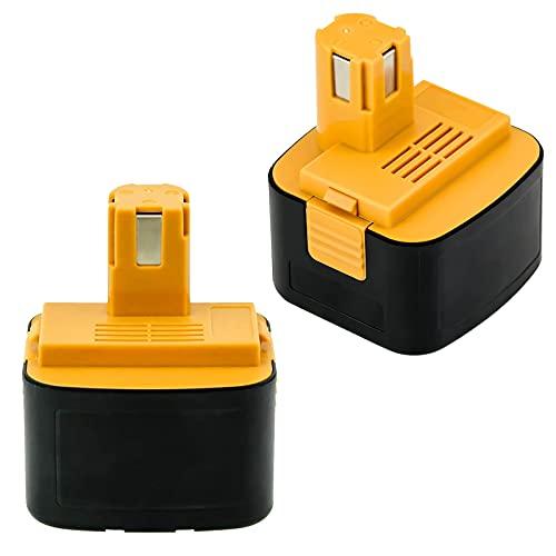 Moticett 互換 ezt901 EZ9200 パナソニック互換バッテリー パナソニック12vバッテリー パナソニック12v 互換バッテリー3000mAh ezt901 2個セット EY9200 EZ9200 EZT901 EY9201 EZ9001対応 急速充電可能 ニッケル水素 電動工具電池