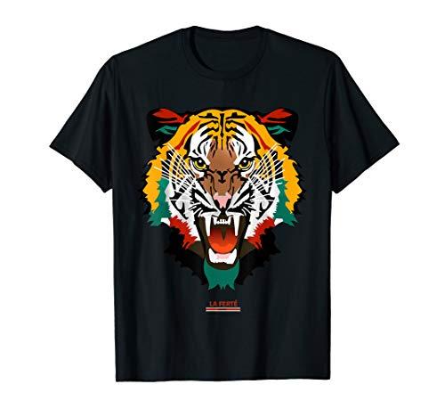 Tiger Tiger-Kopf - Tierdruck Wilde Katze Mode Tiger Face T-Shirt