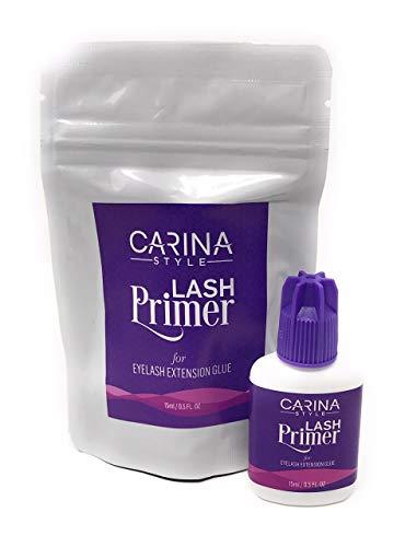 Lash Primer for Eyelash Extensions Glue Adhesive Pre-treatment | Oil Remover | Eyelash Supplies (LASH PRIMER)