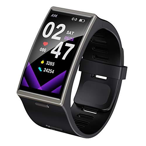 BNMY Smartwatch,Pantalla De 1,391Pulgadas Reloj Inteligente Impermeable IP68 con Pulsómetros para Hombre, Pulsera De Actividad Inteligente con Monitor De Sueño Contador,Negro