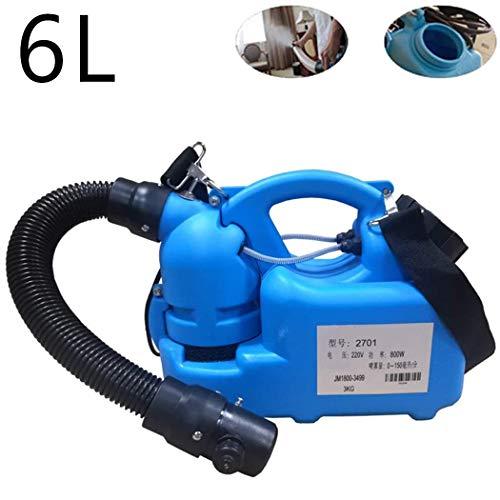 Portable Fogger Machine, 7L Elektrische Sproeier Range 7-9M Desinfectieinrichting Verstelbare Watermist Deeltjesgrootte Bij City Farm School Ziekenhuis