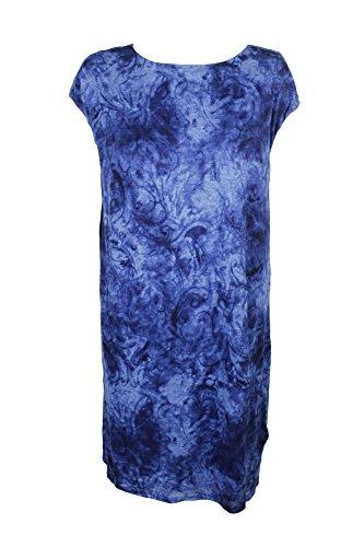 Lauren Ralph Lauren Damen Übergröße Jersey Etuikleid - Blau - 2X
