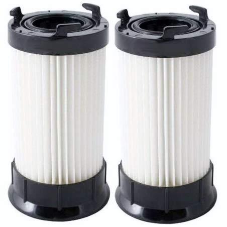 Casa Vacuums 2 Eureka DCF-4 DCF-18 Washable & Reusable Long-Life Vacuum Filter; Replaces Eureka GE DCF1 DCF4 DCF18 Part # 62132 63073 61770 3690 18505 28608-1 28608B-1