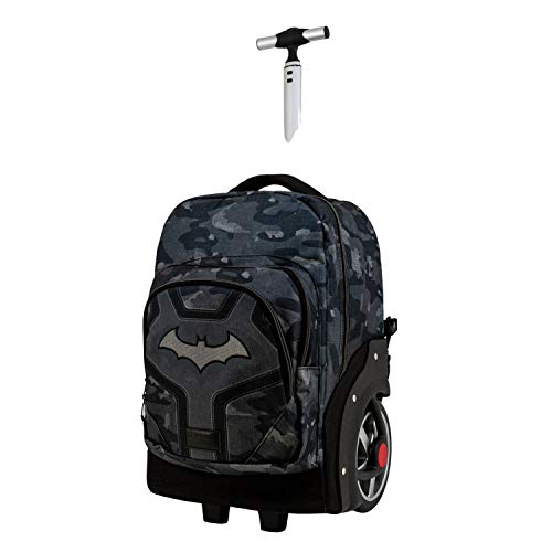 Karactermania Batman Fear - Mochila Trolley Travel GTX, Negro