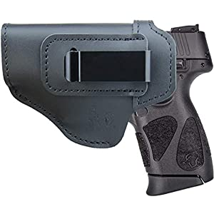 Leather IWB Holster Fits:Taurus G2C / G2S / TH9c Compact/Millennium G2 / 709 740 Slim - Inside Waistband Concealed Carry Pistols Holster