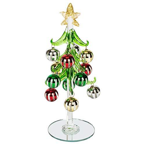 One Hundred Weihnachtsbaum, 80 Grad, Mehrfarbig, Glas, 20,3 cm
