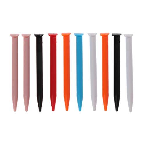 FangWWW 10 lápices capacitivos de plástico para consola de juegos compatibles con Nintendo 2DS XL/LL