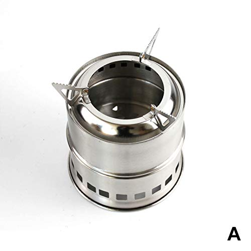 Best Price Luxurat Camping Lightweight Stove, Foldable Windproof Wood Burning Stove for Picnic BBQ Camping, 1 Pcs