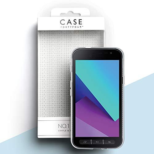 Case FortyFour No.1 para Samsung Xcover 4/4s - Funda delgada y ligera para teléfono - transparente