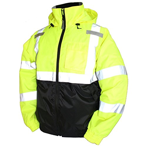 Tingley Rubber Bomber II Jacket, Medium, Lime Green by TINGLEY