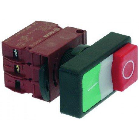 Puce PULSANTIERA O-I Verde-Rossa 10A 400V 9319072