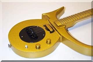 PRINCE Miniature Mini Guitar Gold
