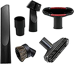 Vacuum Attachments 32 mm (1 1/4 inch) to 35 mm (1 3/8 inch)Shop Vac Accessories Brush Nozzle Crevice Tool for Standard Hose