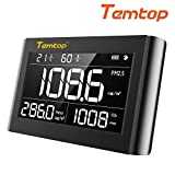 Temtop P1000 Indoor Air Quality Monitor,Detector,Tester for Homeowners Renters & HVAC Pros - Measure PM2.5...
