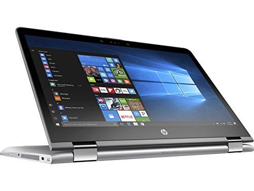 """HP Pavilion x360 14-ba140ns - Ordenador portátil Convertible de 14"""" FHD (Intel Core i7-8550U, 8 GB de RAM, SSD de 256 GB, NVIDIA GeForce 940MX, Windows 10); Plateado - Teclado QWERTY Español"""