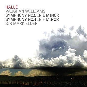 Vaughan Williams; Symphonies Nos. 6 & 4