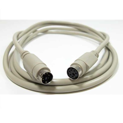 SF Cable, 50ft PS/2 M/F Keyboard/Mouse Extension Cable