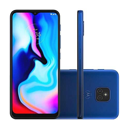 Smartphone Moto E7 Plus Azul Navy, com Tela de 6,5, 4G, 64GB e Câmera de 48MP* + 2MP - XT2081-1'