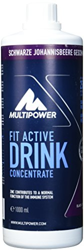 Multipower Fit Active Drink Concentrate Black Currant, 1 l