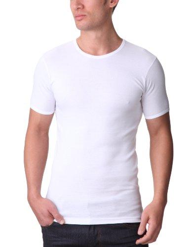 EMINENCE - T-SHIRT - Col O - Les Classiques - Homme - 100% Coton Hypoallergénique - Blanc (Blanc) - X-Large (Taille fabricant: 5)