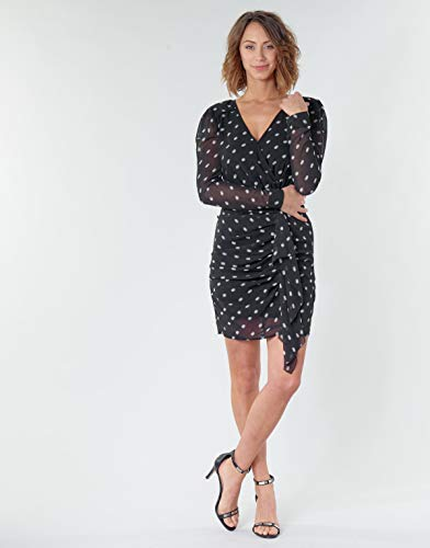 Guess Amal Dress Vestido, Multicolore, M para Mujer