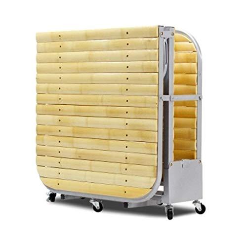 Yuanshitianzun Cama Plegable Silla Plegable Muebles Cama de Espuma de 180 * 65 * 22cm, Estudio de Invitados Silla Plegable Camas, sofá, Cama Simple de bambú Inicio de la Siesta Cama de bambú