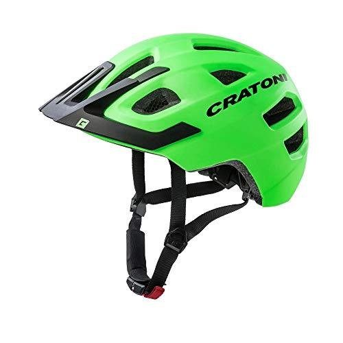 Cratoni Kinder Maxster Pro Fahrradhelm, grün, S-M
