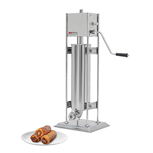 ALDKitchen Churro Maker | Vertical Type Churro Machine | Stainless Steel | Manual Control (7L)