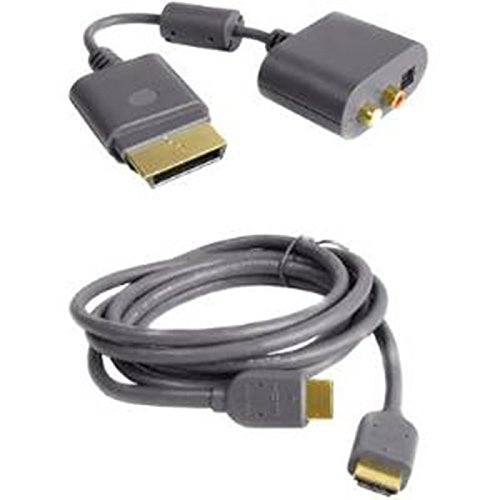 XBOX 360 HDMI AV Audio Visuele Kabel Lood en Optische RCA Adapter Turtle Beach Gaming Hoofdtelefoon Adapter Lood