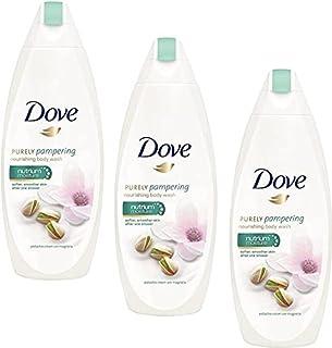 DOVE Pistachio Cream With Magnolia Body Wash 250ML-3Pcs BV52(3 x 250 ml)