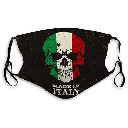 Mund Unifacekull Farbflagge Bild Electricpring Italien