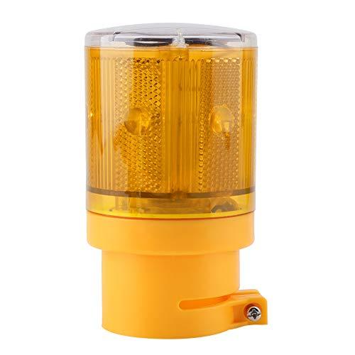 Sanpyl Luz de Advertencia Intermitente para automóvil, lámpara estroboscópica, lámpara estroboscópica de Alarma a Prueba de Agua IP65, luz de señal LED Intermitente de 0,3 W para la(Yellow)