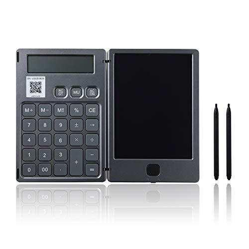 Qurra(BUREW K-mo book) 電卓 & 電子メモ パッド タッチペン 付 ロック機能 折りたたみ 小型 軽量 コンパクト デジタルメモ デジタル メモ帳 3R SYSTEMS