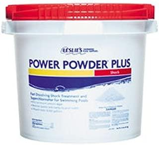 Leslies Power Powder Plus 25lbs Chlorine Shock Bucket