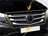 5 piezas para Mercedes Benz Vito W447 2014 en adelante de acero inoxidable cromado para rejilla delantera