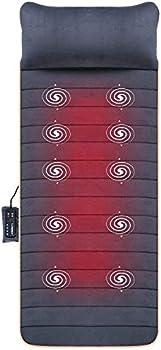 Snailax Massage Mat with 10 Vibrating Motors & 4 Heating Pads