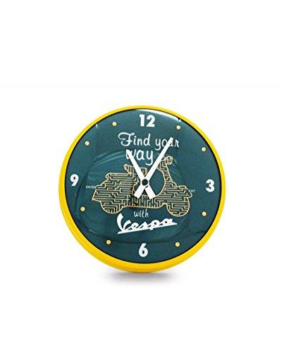 Wanduhr Vespa rund FIND YOUR WAY (verschiedene Größen) 25 cm
