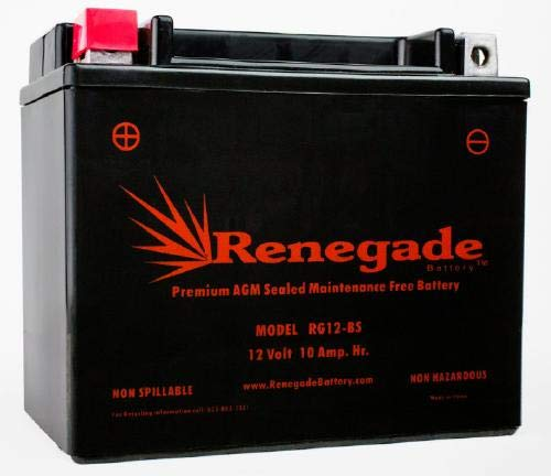 Generator Battery; RG12-BS; Yamaha EF3000iSEB replacement battery. 250+ cold cranking amps
