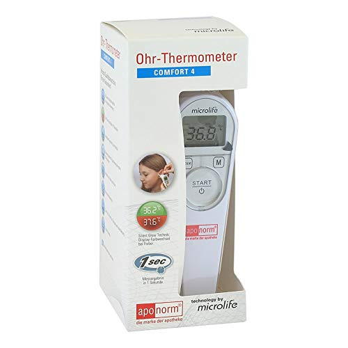 Aponorm Fieberthermometer Ohr Comfort 4, 1 St