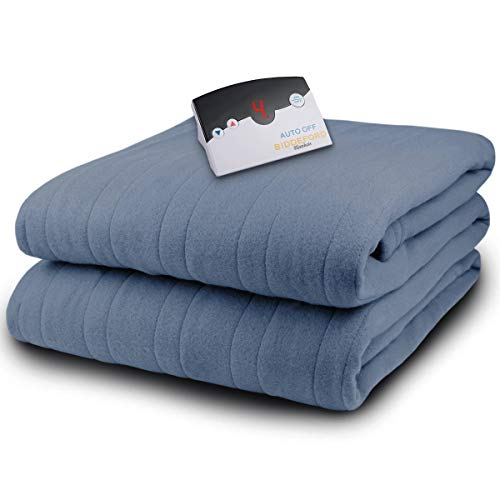 Biddeford Microplush Full Electric Blanket, Arrowhead Blue
